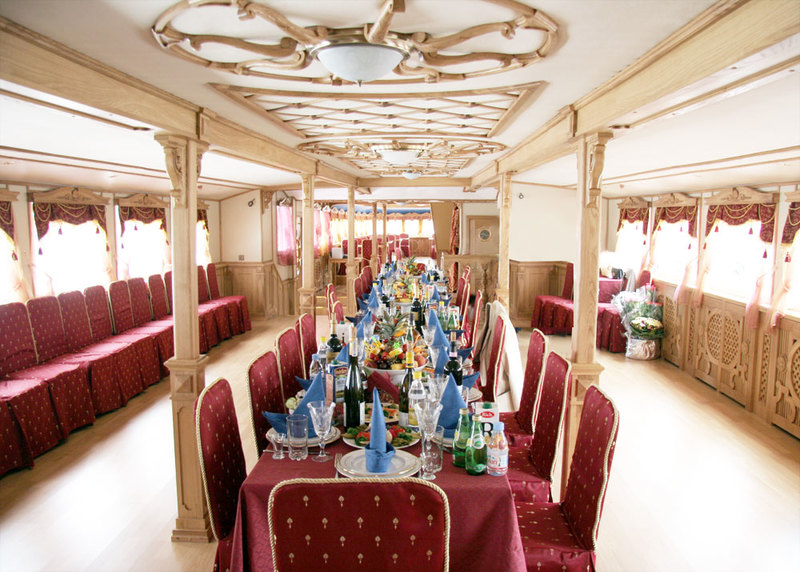 GALA-DINNER AT THE BOAT «CHIZHIK-2»
