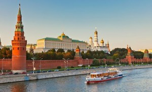 BOAT TRIP ON MOSCOW RIVER BY HISTORICAL CENTER